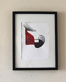 Obrazy - konflikt . akvarel . A4 - 11936367_