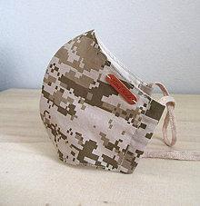 Rúška - pánske rúško army digital IV. - 11937354_