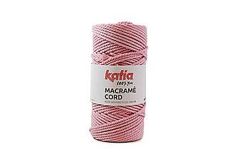Galantéria - KATIA Macrame cord 3mm (100m) - 11937335_