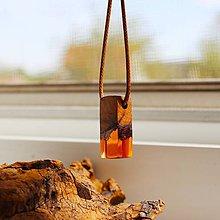 Náhrdelníky - oranžový agát #1 - 11938851_