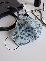 Rúška - Bavlnené rúško dvojvrstvové Deluxe - 11937061_