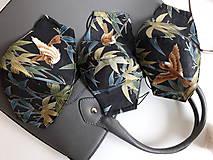 Rúška - Bavlnené rúško dvojvrstvové Deluxe - 11937151_
