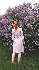Šaty - LIDIA mušelínové šaty - 11935142_
