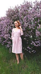 Šaty - LIDIA mušelínové šaty - 11935143_