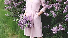 Šaty - LIDIA mušelínové šaty - 11935144_