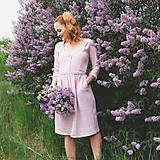 Šaty - LIDIA mušelínové šaty - 11935166_