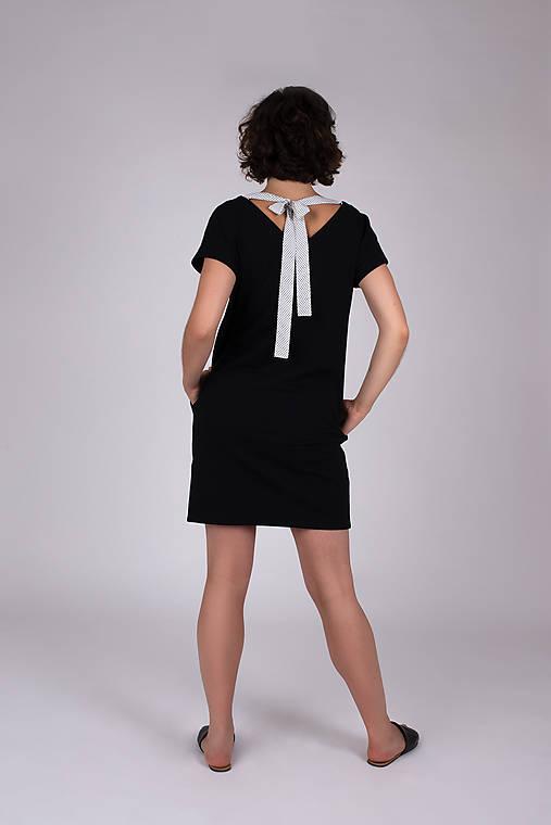 Šaty - ŠATY SUMMER black - 11936350_