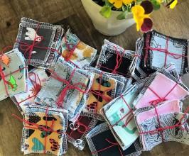 Úžitkový textil - zerowaste odličovacie tampóny - 11935895_