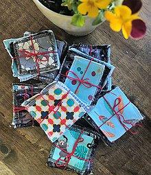 Úžitkový textil - zerowaste odličovacie tampóny - 11935986_