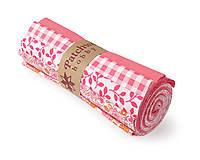 Textil - Bavlnené látky - rolka Pink Flower - 11935363_