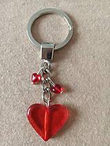Kľúčenky - Kľúčenka srdiečková - 11938236_