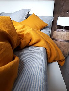 Úžitkový textil - Ľanová plachta Farmhouse Cottage - 11938612_