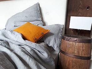 Úžitkový textil - Vidiecke ľanové obliečky Farmhouse Cottage - 11938685_