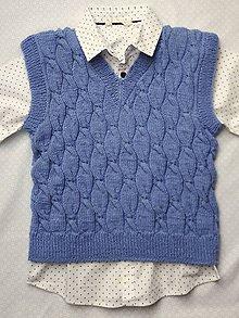 Detské oblečenie - Chlapčenská vesta - 11940763_