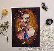Grafika - Môj magický gombík - 11944360_