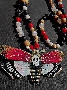Náhrdelníky - La mariposa mortal - 11940793_