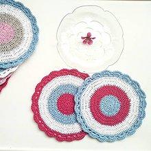 Úžitkový textil - Prestieranie farebné kruhy - 11942125_