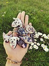 Kľúčenky - Kľúčenka podľa foto psíka - 11940425_