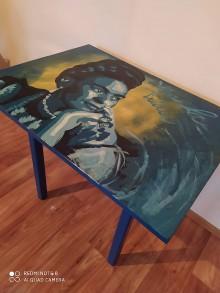 Nábytok - Frida v modrom. - 11943837_