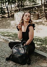 Šaty - Overal AMÉLIE na dojčenie - ľan - 11941953_