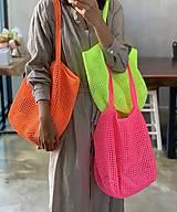 Veľké tašky - Lovely Summer BAG N.E.O.N. - 11940489_