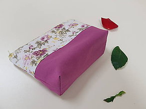 Taštičky - Kozmetická taštička do kabelky - 11940838_