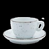 Nádoby - Šálka na cappuccino s podšálkou biela - 11939868_