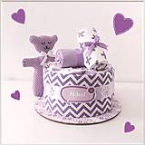 "Detské doplnky - MINI tortička ""VIOLET"" - 11941062_"