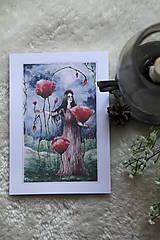 Obrazy - Maková kráľovná Art Print - 11944507_