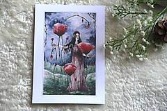 Obrazy - Maková kráľovná Art Print - 11944510_