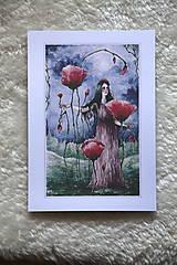 Obrazy - Maková kráľovná Art Print - 11944515_