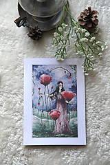 Obrazy - Maková kráľovná Art Print - 11944537_