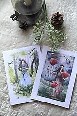 Obrazy - Maková kráľovná Art Print - 11944541_