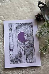 Kresby - Zvončeková víla Art Print - 11944929_