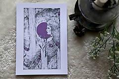 Kresby - Zvončeková víla Art Print - 11944930_
