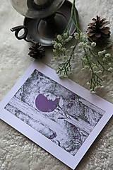 Kresby - Zvončeková víla Art Print - 11944931_