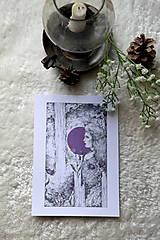 Kresby - Zvončeková víla Art Print - 11944940_