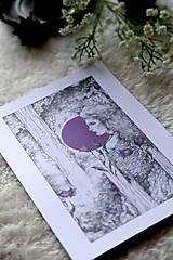 Kresby - Zvončeková víla Art Print - 11944941_