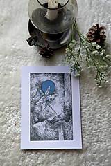 Kresby - Vážková víla Art Print - 11945030_
