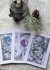 Kresby - Víla na krídlach nočných motýľov Art Print - 11945094_