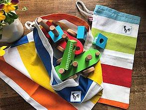 Úžitkový textil - bavlnené vrecúška - 11941666_