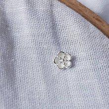 Náušnice - napichovacie náušnice - čerešňové (sakurové) kvety (Napichovacia náušnica Sakura 8) - 11941456_