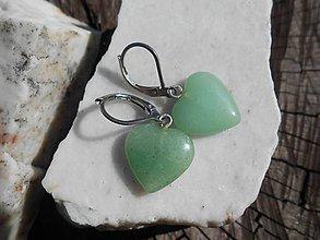 Sady šperkov - green AVANTURINA-avanturín- - 11949361_