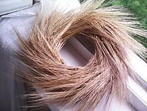Dekorácie - Prírodný veniec na dvere ... pšeničkový... - 11947386_
