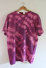 Tričko_T-shirt_batik_purple_XL_uni