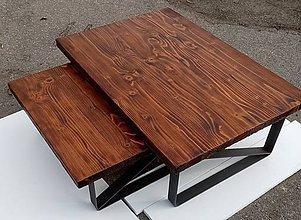 Nábytok - Industriálny Konferenčný stolík - 11947351_