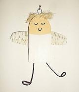 Anjelik na stenu