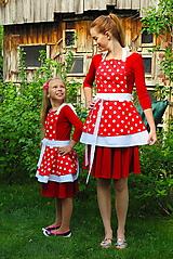 Iné oblečenie - Šatové kuchynské zásterky Retro rodina - 11949206_