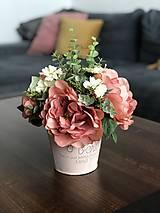 Dekorácie - Kvetinova dekoracia - 11946550_
