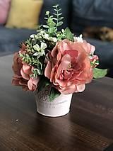 Dekorácie - Kvetinova dekoracia - 11946551_